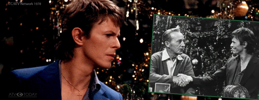David Bowie with Bing Crosby on ATV's Merry Olde Christmas