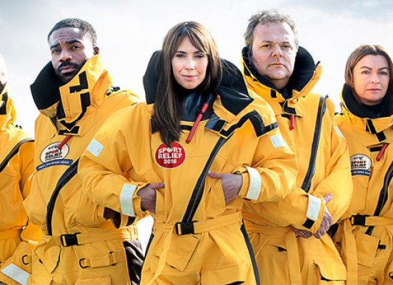 Alex Jones reports onboard the BT Sport Relief Challenge: Hell on High Seas