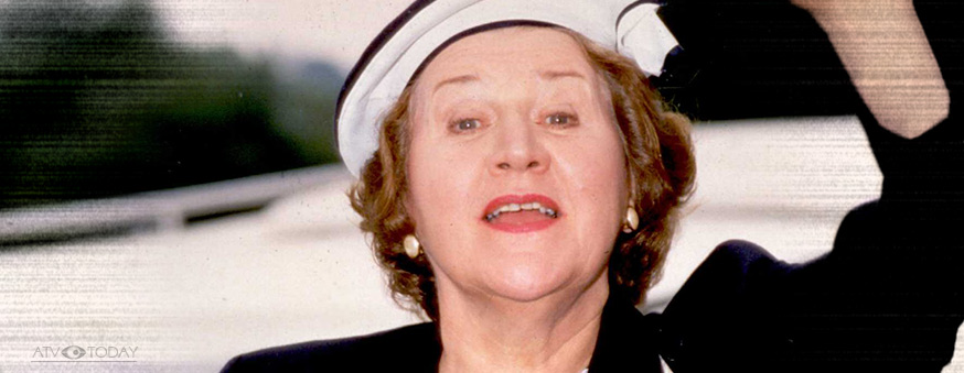 Keeping Up Appearances with Patricia Routledge as Hyacinth Bucket.