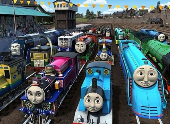 Thomas & Friends confirms the full line-up of 13 new international engines for 'The Great Race'