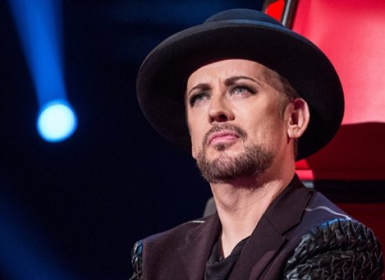 Boy George says goodbye to The Voice UK