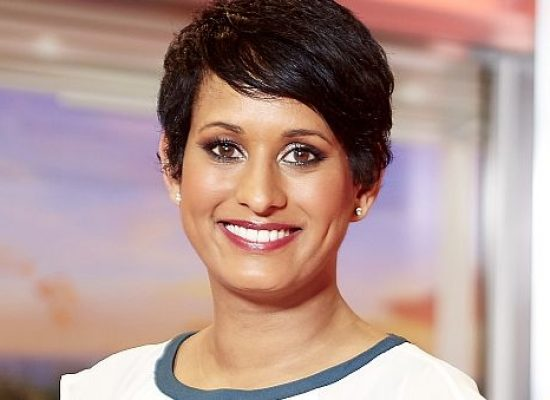 Naga Munchetty takes a Charleston out of the Strictly dance floor