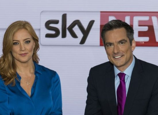 New studio and schedule for Sky News