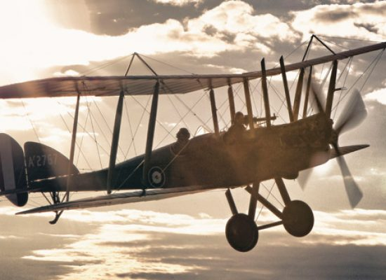 WW1 flying machine salutes New Zealand's contribution to the Battle of the Somme