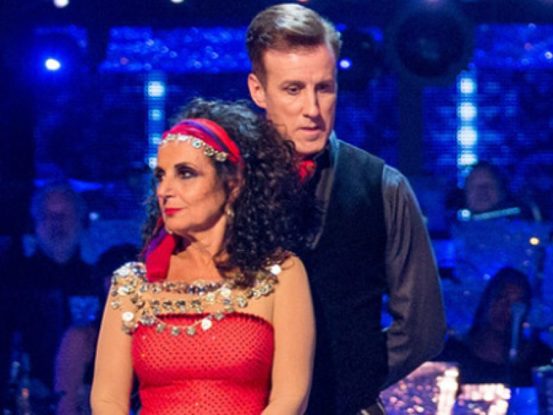 Lesley Joseph tangos out of Strictly