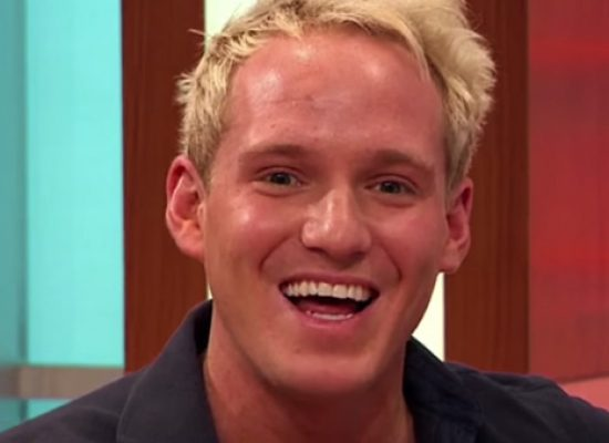 Made In Chelsea star Jamie Laing in Twitter frontal flash