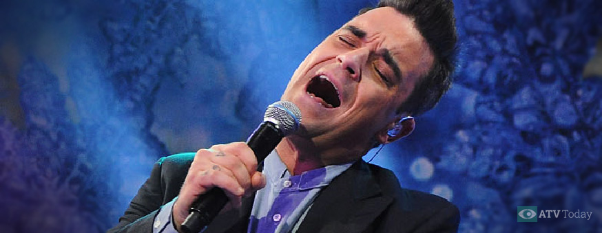 Robbie Williams on TOTPS