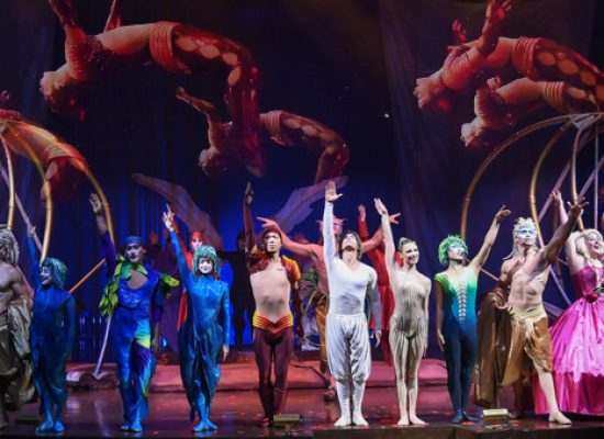 Cirque du Soleil take 'Varekai' on its first-ever UK arena tour