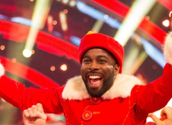 Melvin Odoom is Strictly's 2016 Christmas champion