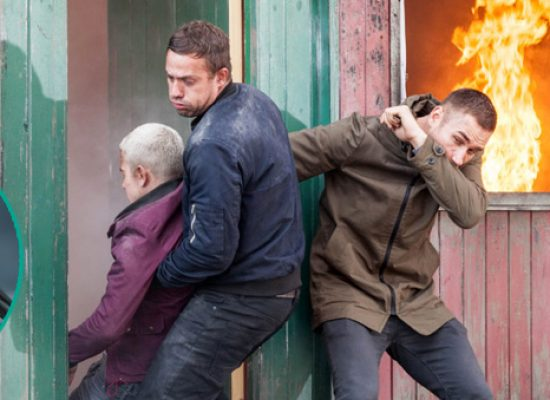Dramatic rescue for Joel in Hollyoaks inferno