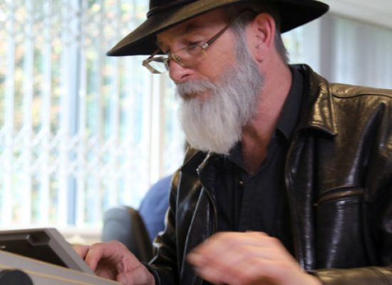 Paul Kaye stars as Sir Terry Pratchett in BBC Two story of his life