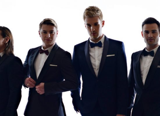 Collabro unveil capella version of Til I Hear You Sing