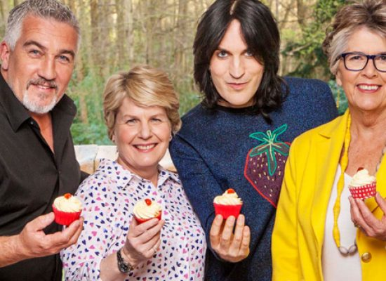 Paul Hollywood and Noel Fielding talk Channel 4 Bake Off