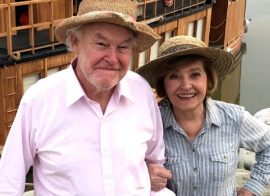 Timothy West and Prunella Scales take their canal travel series to India