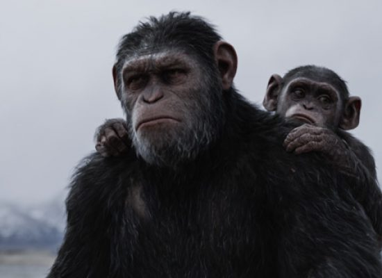 ITV and Channel 4 collaborate to promote the launch of War for the Planet of the Apes