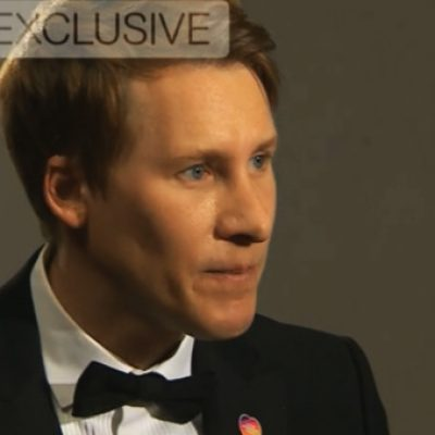Dustin Lance Black talks Tom Daley and DUP