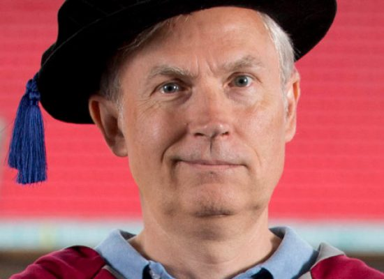 Luke Johnson, former Channel 4 chairman given Honorary Doctorate