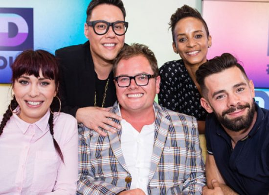Alan Carr hosts Loud and Proud for Comic Relief and London Pride