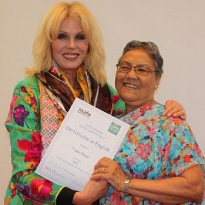 Joanna Lumley becomes SSAFA ambassador