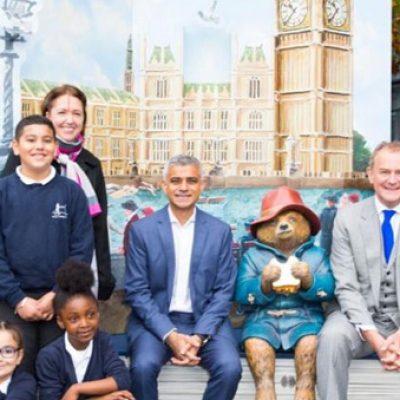 Paddington Bear to 'pop-up' around London