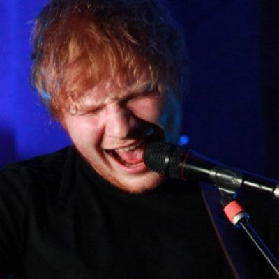 Ed Sheeran puts on a performance for Dermot O'Leary