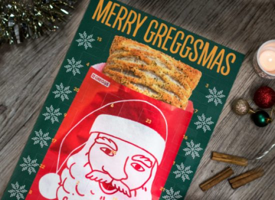 Bakers Greggs to release their first ever advent calendar
