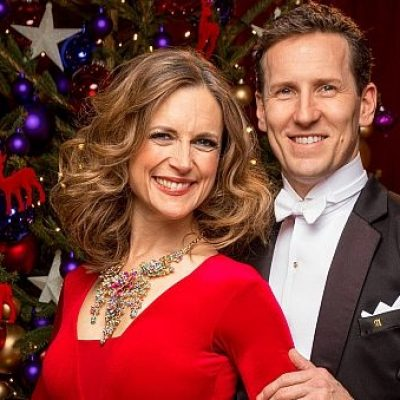 Strictly's Christmas special won by Katie Derham