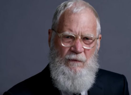 David Letterman returns to chat