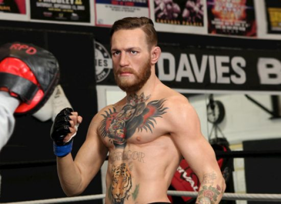 Conor McGregor given Madame Tussauds treatment