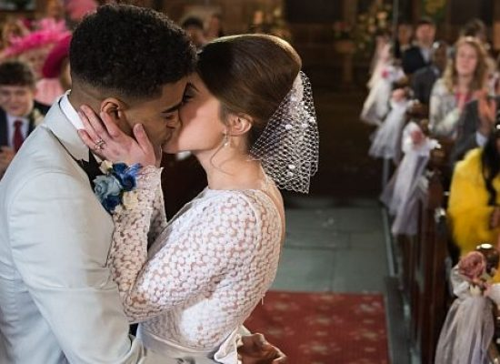 Hollyoaks' Prince and Lily tie the knot
