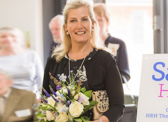 HRH The Countess of Wessex opens support centre for Dementia Support
