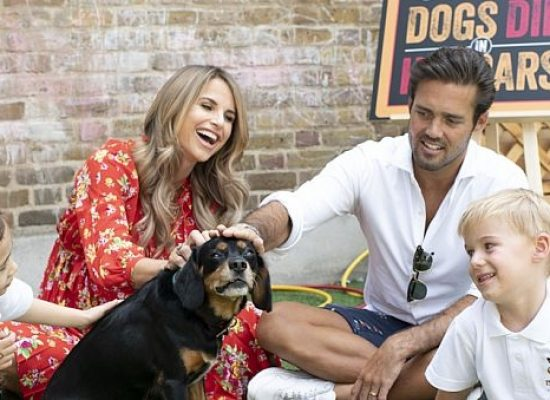 Vogue Williams and Spencer Matthews team up with Fireman Sam for dog safety campaign