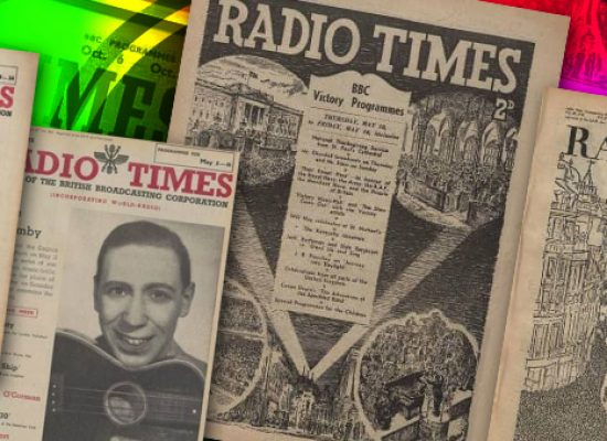 1940s Radio Times magazines to become accessible online