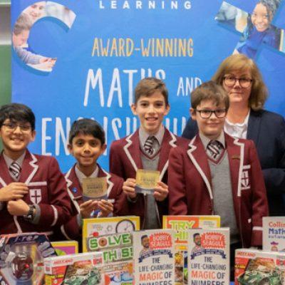 Bobby Seagull celebrates National Young Mathematicians' Awards