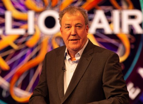 Jeremy Clarkson is back in the millionaire's chair for ITV