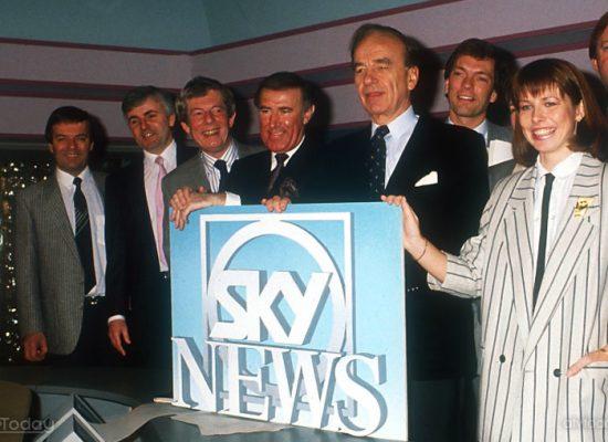 Sky News marks 30th anniversary