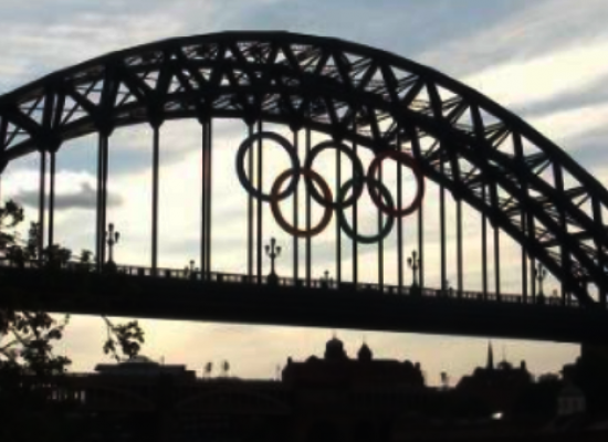 Paralympic Games promoted by Olympic Stadium stunt