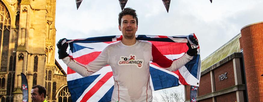 Greg James Sport Relief 2016