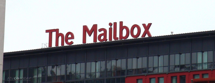 The Mailbox - BBC Birmingham - an ATV photo 2015