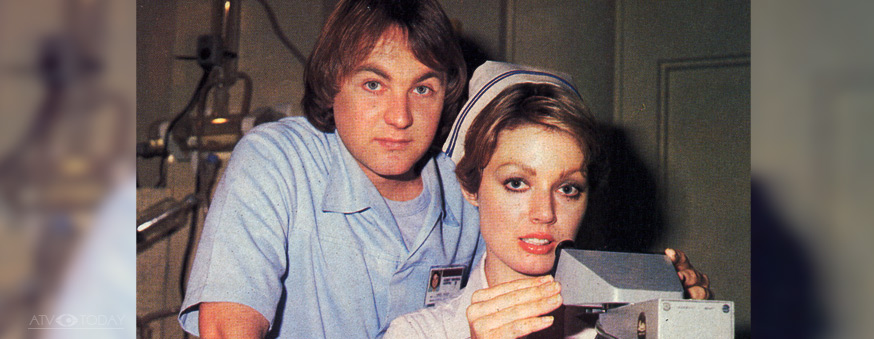 Chris King with Lynda Stoner in The Young Doctors - Grundy/Fremantle