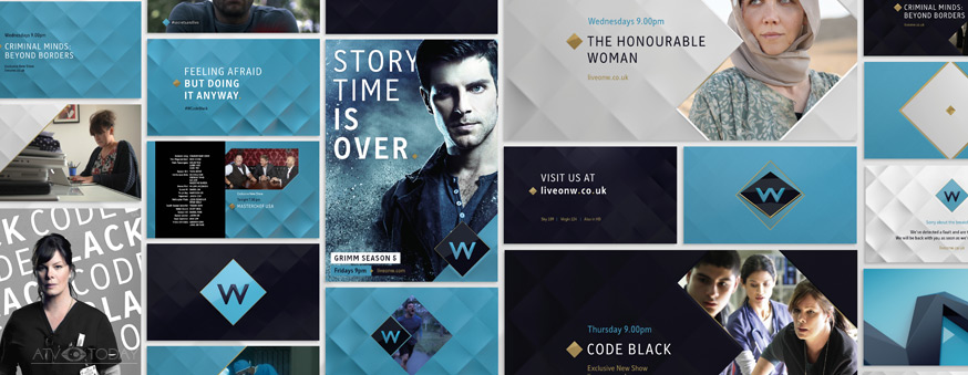 UKTV's W branding