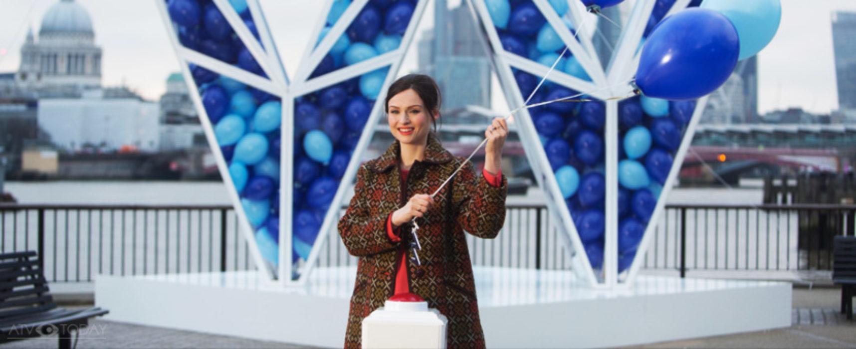 Sophie Ellis-Bextor helps launch UKTV's latest channel 'W'