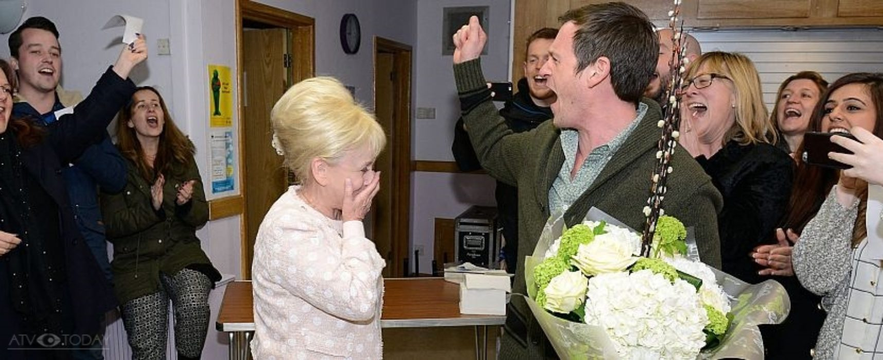 EastEnders cast and crew celebrate Barbara Windsor