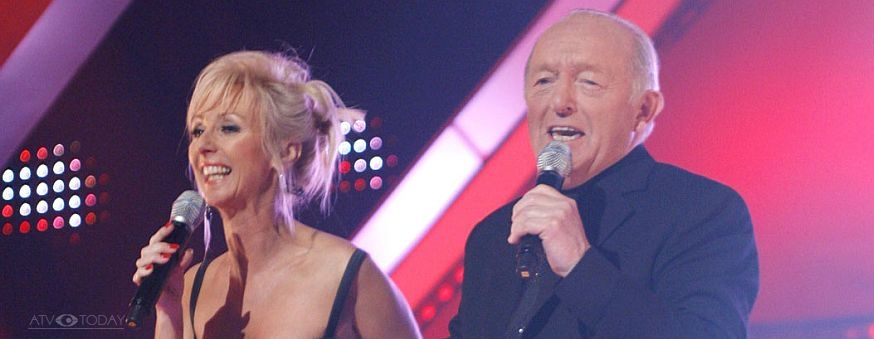 Paul Daniels and Debbie McGee on ITV's The X Factor Battle Of The Stars in 2006