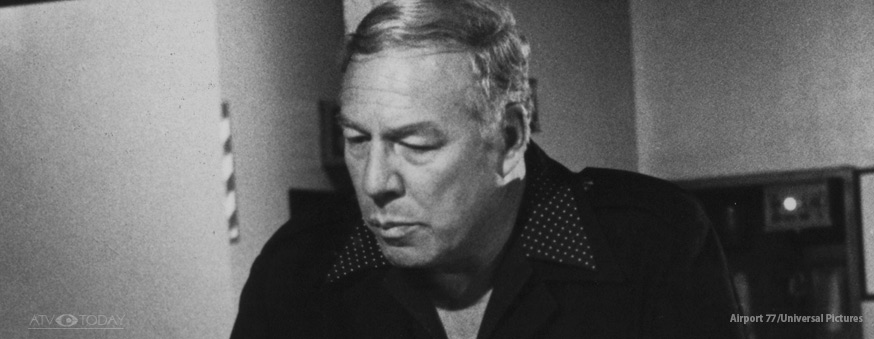 George Kennedy in Airport 77