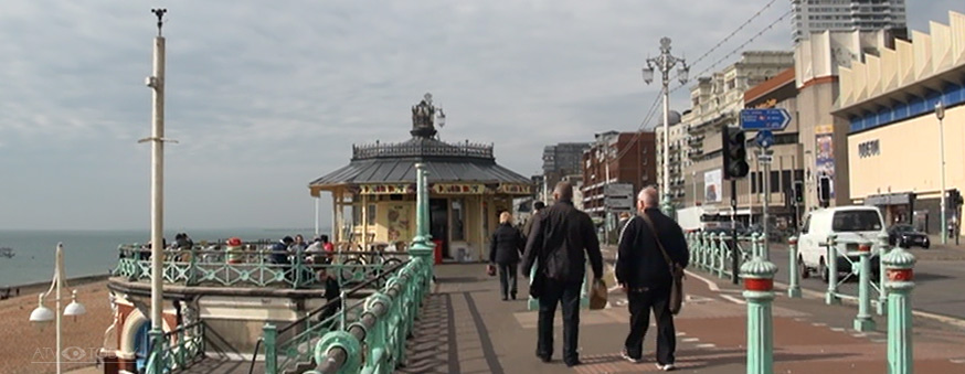 Brighton Sea Front, 2011 ATV Today photo