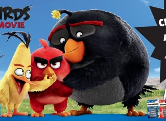 Panasonic teams up with Angry Birds for competition