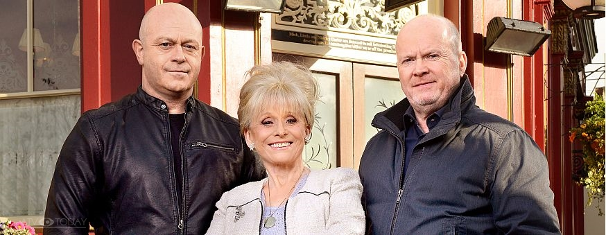 EastEnders - Peggy, Phil and Grant in 2016