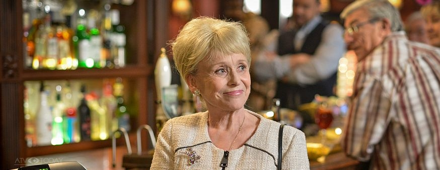 EastEnders - Peggy in the Vic 2016