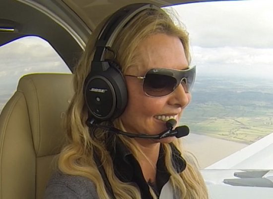 Channel 5 to follow Carol Vorderman as she attempts solo flight around the world